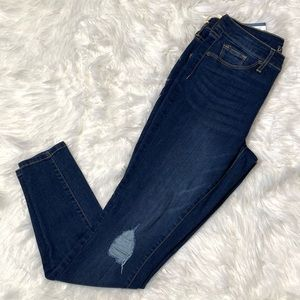 Distressed jeggings size 8 universal thread nwt